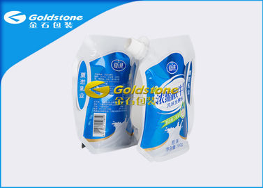 China Different Shape Stand Up Foil Pouches With Spout Puncture / Drop Resistance supplier