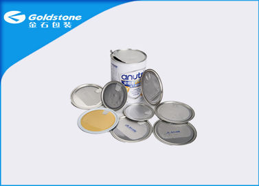 China Metal Can Packaging Easy Peel Off Open Ends BPA Free Health Performance supplier