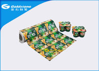 Easy Peel Lid Reel Film For Four / Eight Cups Paper / VM-PET / Aluminum Material