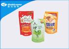 China Partial Matt Shiny Printing Stand Up Flexible Packaging Pouches With Positioned Laser Line factory