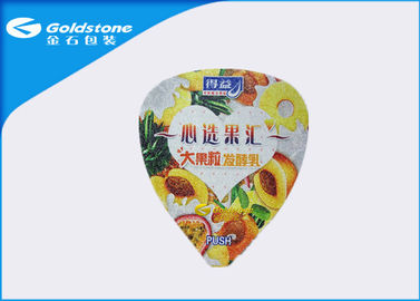 China Ce Certificated Heat Seal Foil Foil Seal Packaging Lids 8 Colors Printing distributor