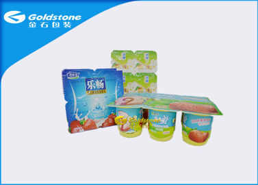 China Non Fluorescence Custom Paper Sticky Labels Coated Paper / BOPP Material distributor