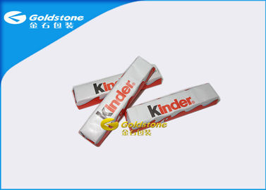 China Plastic Foil Wrapping Paper For Chocolate Bar , Homemade Chocolate Packing Material distributor