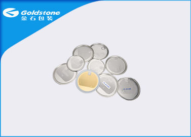 China Dry Goods Metal Can Packaging Peel Off Ends With Aluminium Foil Lids distributor