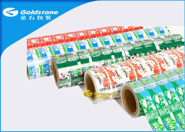 China 11 Colors Printed Adhesive Custom Paper Labels For Yoghurt / Ice Cream Cups distributor