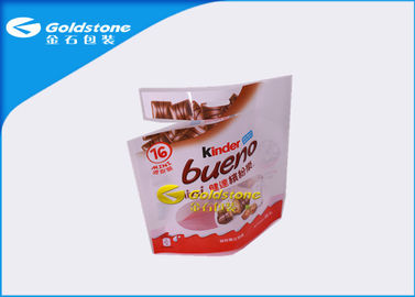 China Aluminum Foil Resealable Stand Up Pouches For Chocolate Food Packaging distributor