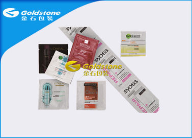 China Shampoo And Conditioner Aluminum Sachets Packaging With Good Self Sealsive factory
