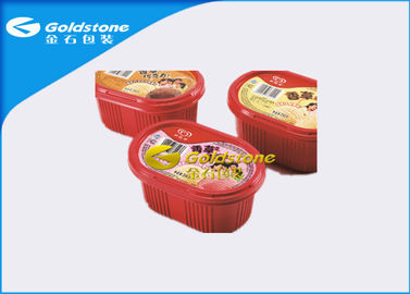China Colorful Printed Disposable Plastic Yogurt Cups Injection / Thermo Forming Type distributor